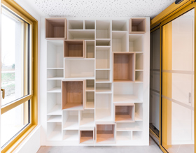 Armoires sur mesure - Superposition de niches